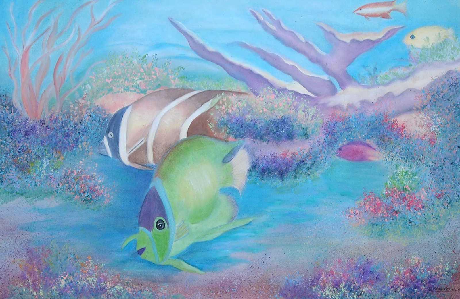Green Parrot Fish