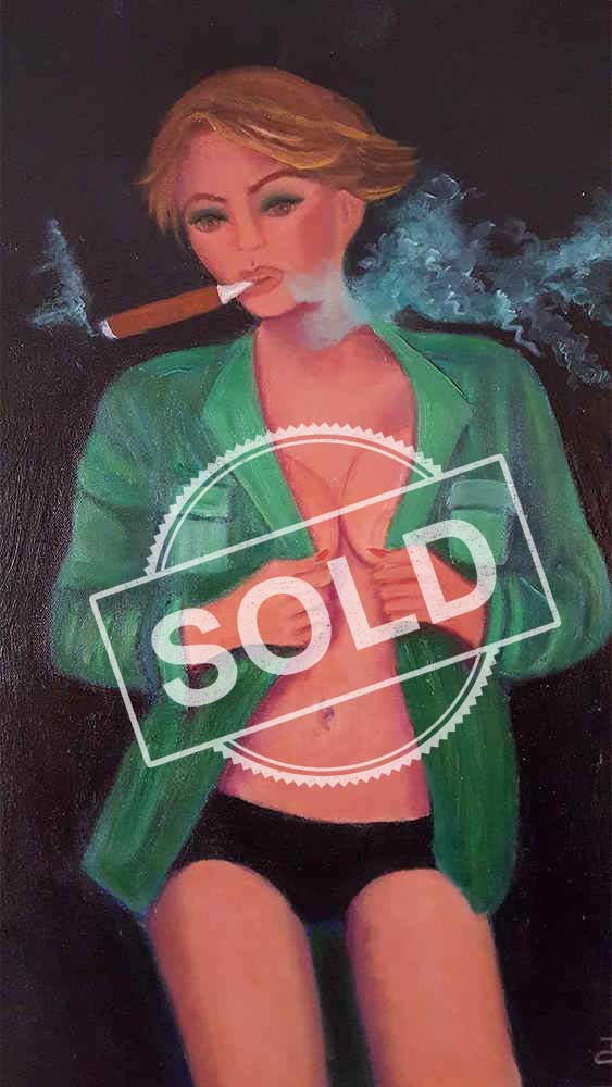 Cigar Babe Sold